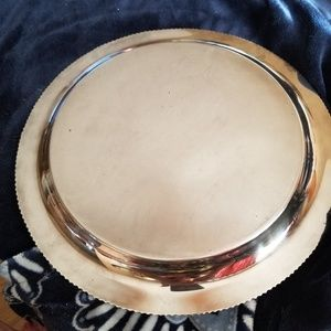 unknown Dining - Very tarnished silver platter